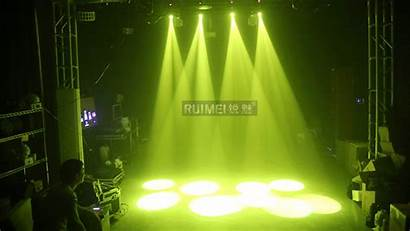 Led Moving Head Stage Strobe 60w Gobos