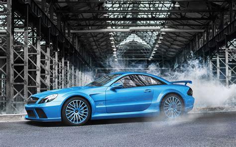 Mercedes Sl Class 4k Wallpapers by Mercedes Sl Klasse 65 Amg Blue Car 4k Ultra Hd