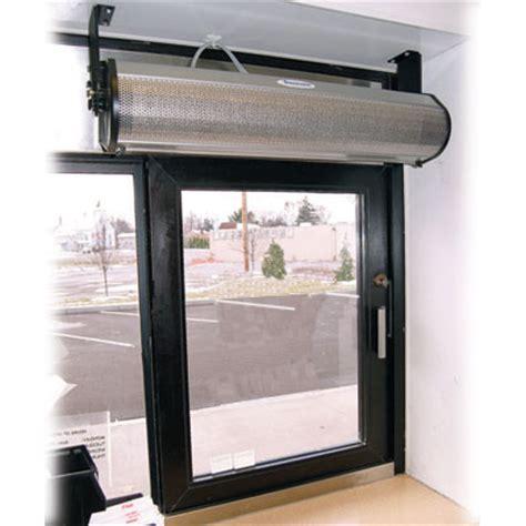 berner dtu03 1018ea heated air curtain for drive thru