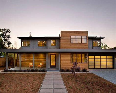 contemporary prairie style house plans small one flat roof costs for 2017