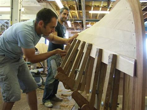 modern wooden boat building boat building academy