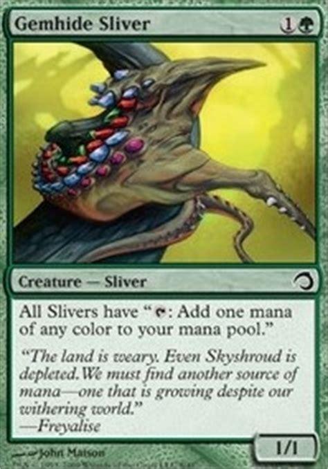 mtg sliver deck tapped out venom sliver mtg card