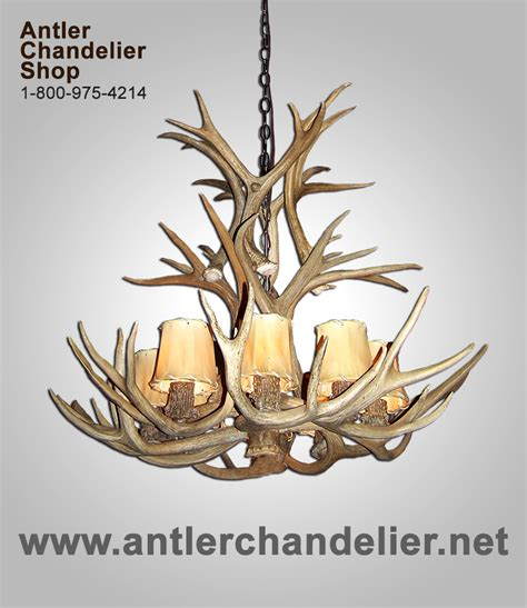 crafted montana antler chandeliers for sale picture