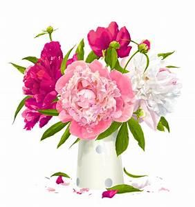 Grand Vase Transparent : vase with peonies clipart gallery yopriceville high quality images and transparent png free ~ Teatrodelosmanantiales.com Idées de Décoration