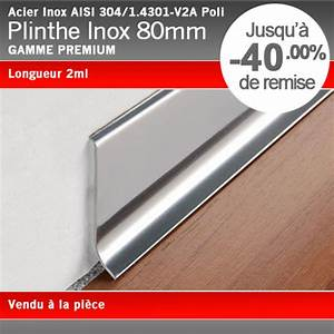 Plinthe Alu Cuisine : plinthe inox poli 80mm ~ Melissatoandfro.com Idées de Décoration