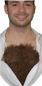 Hairy Chest - Accessories & Makeup
