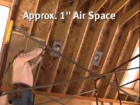 the right way to insulate attics and cathedral ceilings