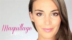Maquillage Yeux Tuto : tuto maquillage simple yeux marrons verts bleus youtube ~ Nature-et-papiers.com Idées de Décoration