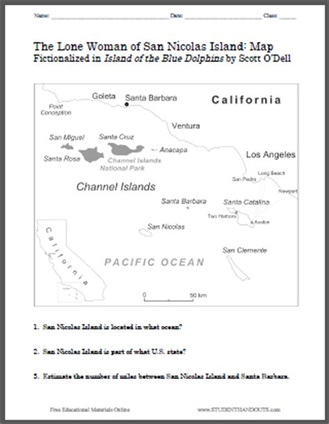 worksheet island of the blue dolphins worksheets this worksheet is designed to help students take notes on