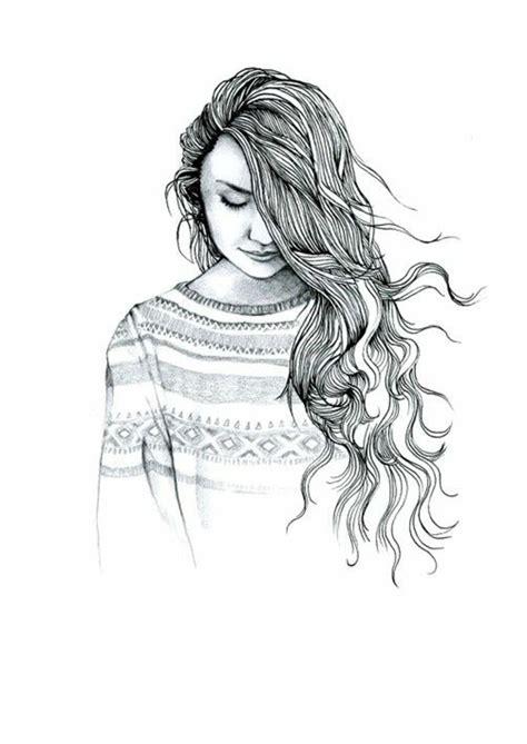 Cette page de coloriage est spécialement dédiée aux filles. 1001 + images pour le dessin fille parfait - des idées pour développer son créativité | Cómo ...