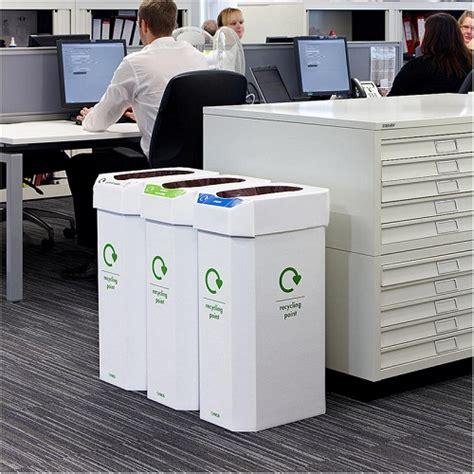 industrial style desk combin cardboard combination recycling bin pack of 5