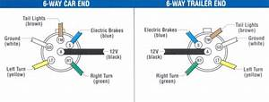 Wiring Diagram For Trailer Light 6-way