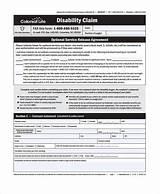 Disability Insurance Claim Form Photos