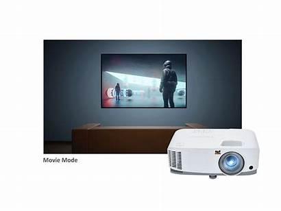 Projector Mode Viewsonic Hdmi Dual Pc Lumen