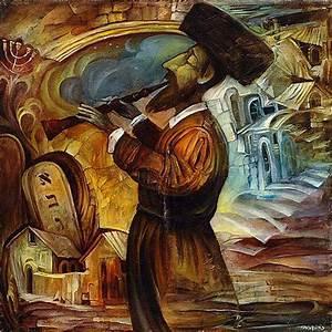 Original Oil on Canvas Painting by Boris Shapiro Jewish ...