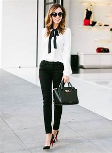 Black Jeans at the Office | How to Wear