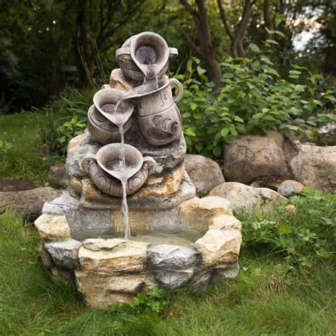 Springbrunnen Für Terrasse stilista springbrunnen kr 252 ge garten terrasse brunnen