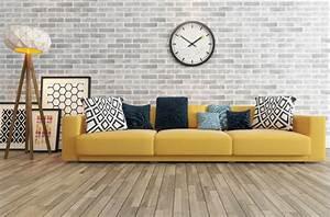 Canapé Convertible Jaune : canap jaune royal sofa id e de canap et meuble maison ~ Teatrodelosmanantiales.com Idées de Décoration