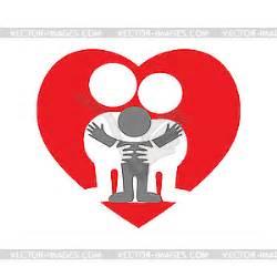 Family love - vector clip art