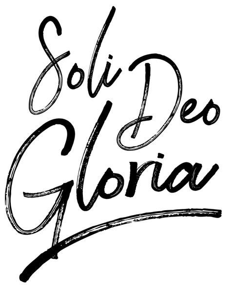 Soli Deo Gloria - Medium