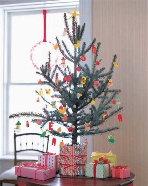 creative christmas tree decorating ideas martha stewart