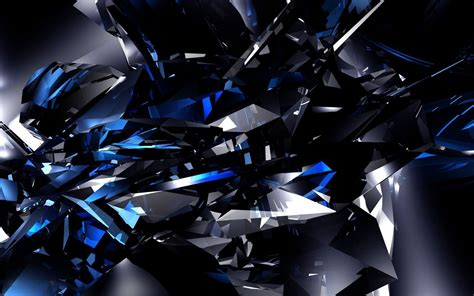 3d Wallpapers Blue by Blue And Black Wallpaper 45 2560x1600