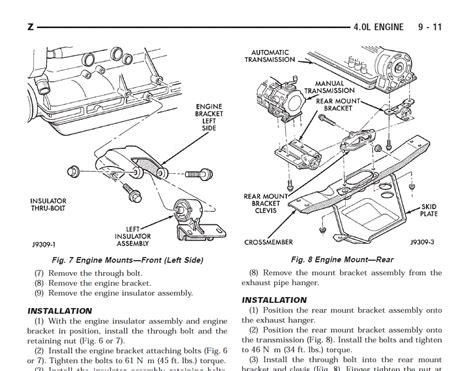 jeep grand cherokee factory service repair