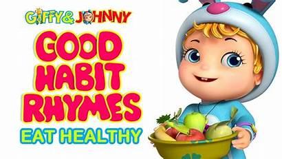Habits Healthy Eat Rhymes Infobells