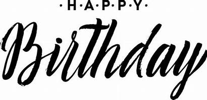 Birthday Happy Card Calligraphy Lettering Schriftzug Handwriting