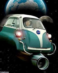 Astronaut Driving a NASA Space Car Pictures