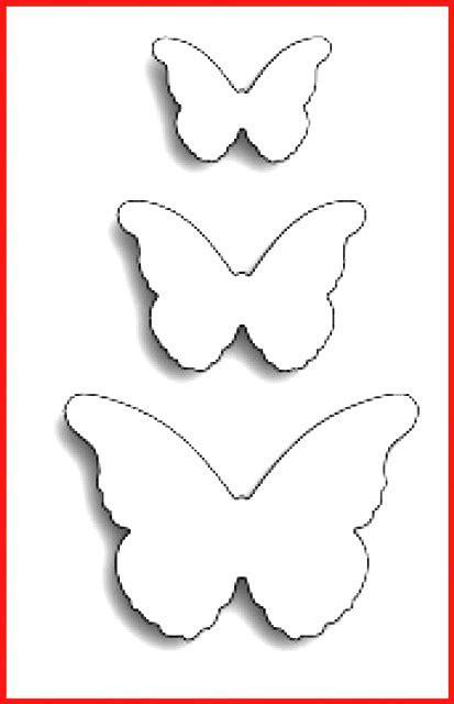 Schmetterlinge Schablonen Zum Ausdrucken Kostenlos   Rooms