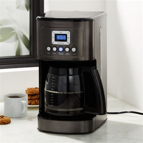 If you check out the reviews on costco's website there are over 2,000 reviews with a 4.6 average. Cuisinart PerfectTemp 14 Cup Programmable Coffeemaker Black + Reviews | Crate and Barrel in 2020 ...