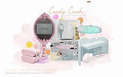 Candy Trends Bedroom Furniture Crush Coloured Moodboard