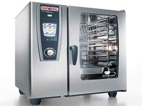 rational cuisine rational scc61 rational scc61 self cooking center combination oven gas combination ovens