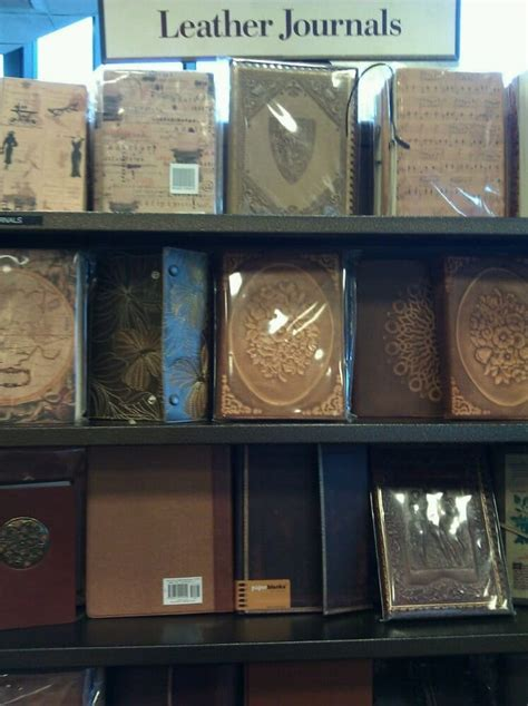 barnes and noble journals large selection of leather journals yelp