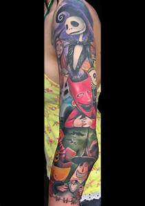 25, jack, skellington, tattoos, part, 2