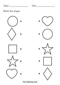 shapes worksheets images shapes worksheets