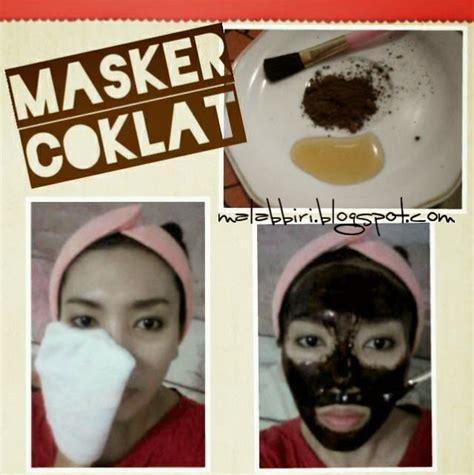 malabbiri masker coklat untuk wajah