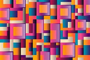 Shapes, Square, Colors, Hd, Wallpapers