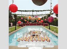 Cool pool party decor ideas Little Piece Of Me