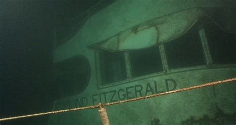 sinking of the ss edmund fitzgerald edmund fitzgerald the shipwreck that never gave up its dead