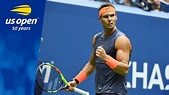 2018 US Open Top 5 Plays: Rafael Nadal - YouTube