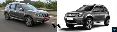 nissan terrano vs renault duster renault duster vs nissan terrano which is better to buy