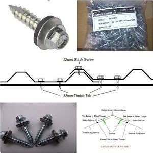 roofing sheet screws ebay