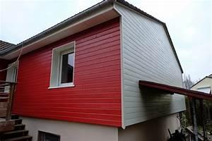 Isolation Extérieure Bardage : isolation et bardage bois rouge et blanc loire eco bois ~ Premium-room.com Idées de Décoration
