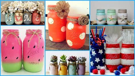 Diy Mason Jars Crafts Ideasdiy Summer Room Decoration