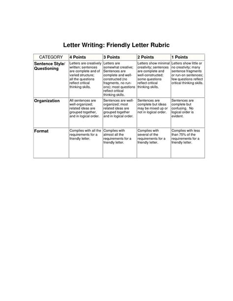cursive writing rubric grade  teaching cursive