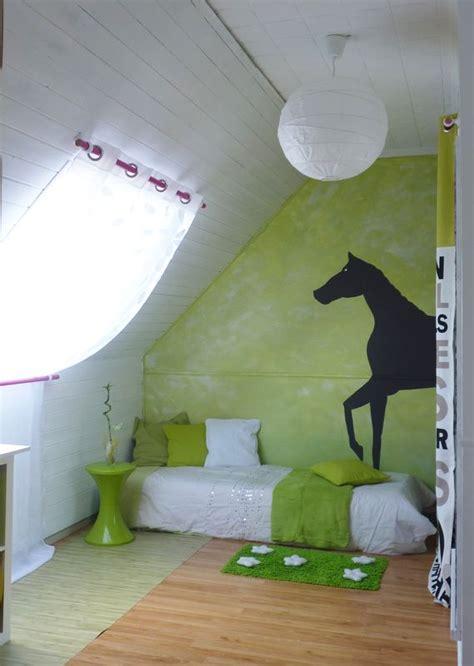 chambre cheval deco cheval pour chambre fille raliss com