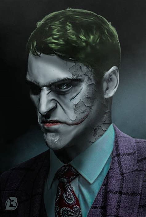 Joaquin Phoenix Joker Fan Art  Cosmic Book News