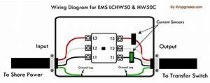 Progressive Industries Ems-hw50c Hardwire 50 Amp Rv Surge Protector  Remote Display